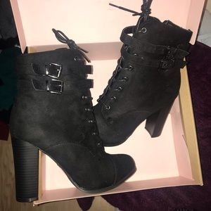 Shoes - Charlotte Russe boots